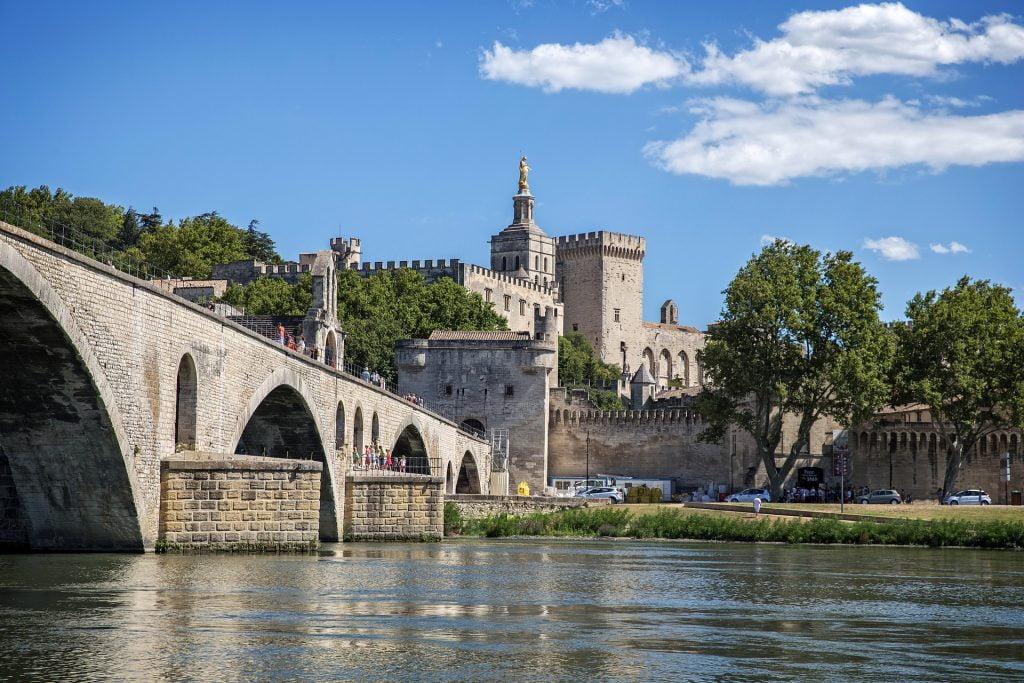 Avignone ponte Provenza Francia
