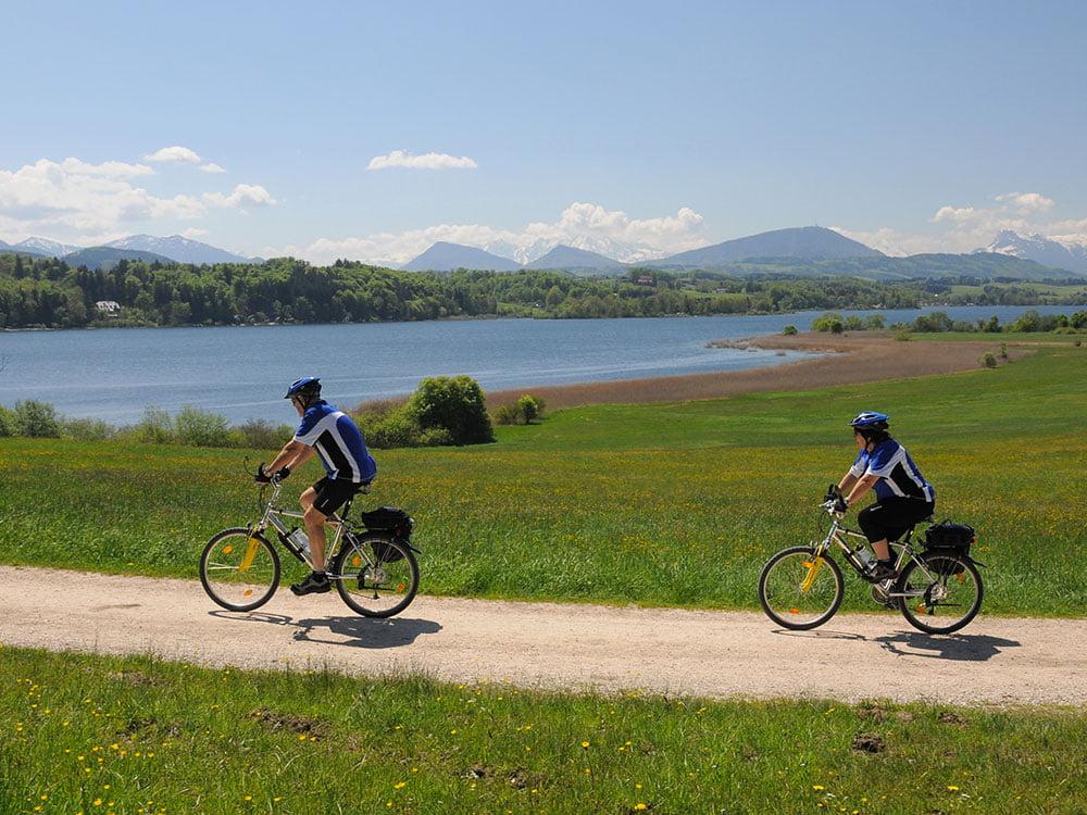 in bici nel salisburghese