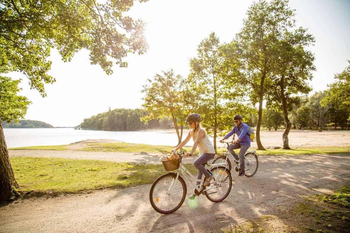 Finlandia in bici