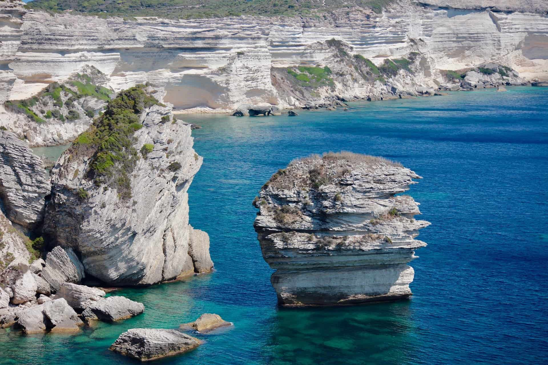 Corsica scogliera Bonifacio